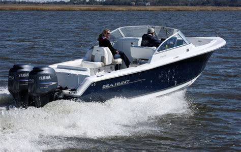 Seahunt Boats by Research 2011 Sea Hunt Boats Escape 250 On Iboats