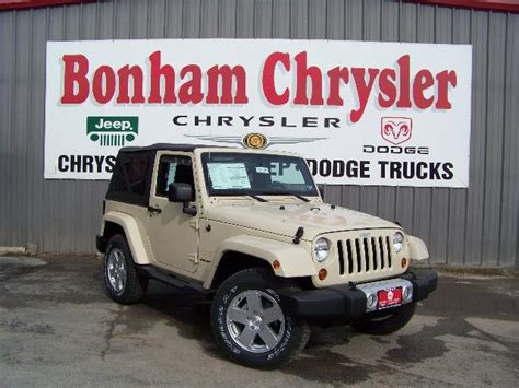 Bonham Chrysler Dodge Jeep jeep will be impressed with the 2011 jeep wrangler