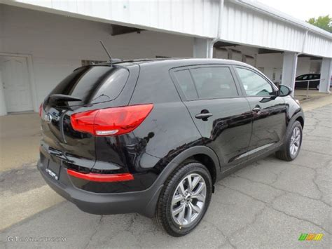 kia sportage black 2016 black cherry kia sportage lx awd 106176437 photo 3