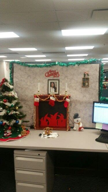 diy christmas cube decorations cubicle decor cubicle ideas cubicles cubicle and decor