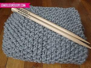 Tricoter Un Plaid En Grosse Laine : tricoter une grosse couverture ~ Melissatoandfro.com Idées de Décoration