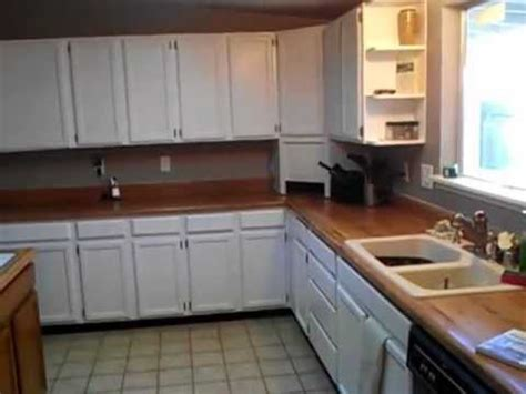 painting oak kitchen cabinets white high