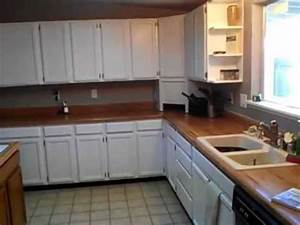 Before And After Painting Oak Kitchen Cabinets White High