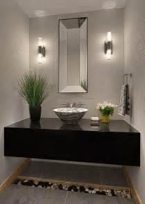 Wayfair Bathroom Vanity Accessories by Modern Powder Room With Powder Room Amp High Ceiling
