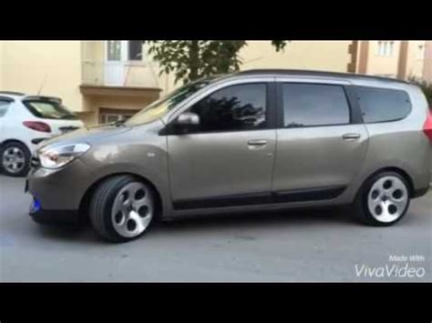dacia lodgy tuning dacia lodgy modifiye gnc point 18 inch