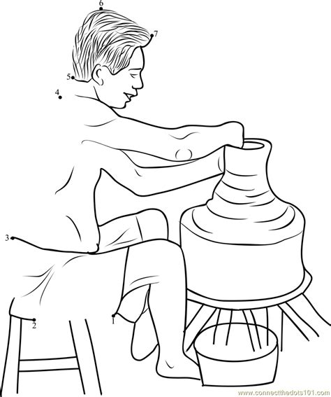 clay jug coloring pages coloring pages