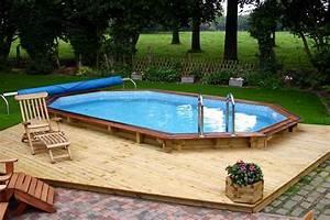 Piscine En Kit Enterrée : piscine en kit bois ~ Melissatoandfro.com Idées de Décoration