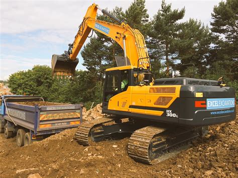 Excel Excavations take delivery of the first Hyundai HX300 ...