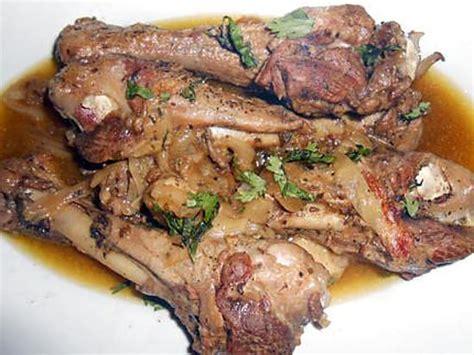 cuisiner manchons de canard manchons de canard au jus flageolets et haricots verts
