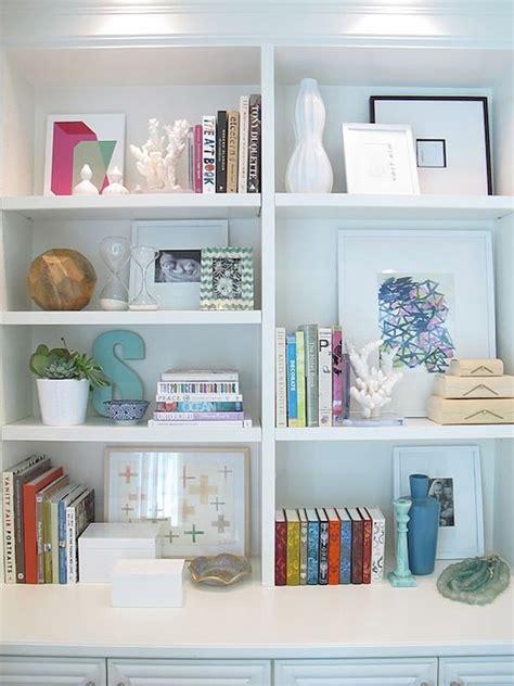 Pretty Bookshelf Organization  No Place Like Home