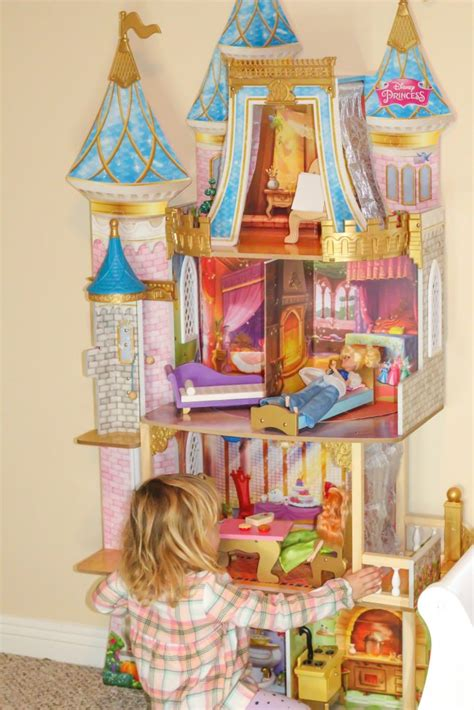 kidkraft disney princess doll house  healthy mouse