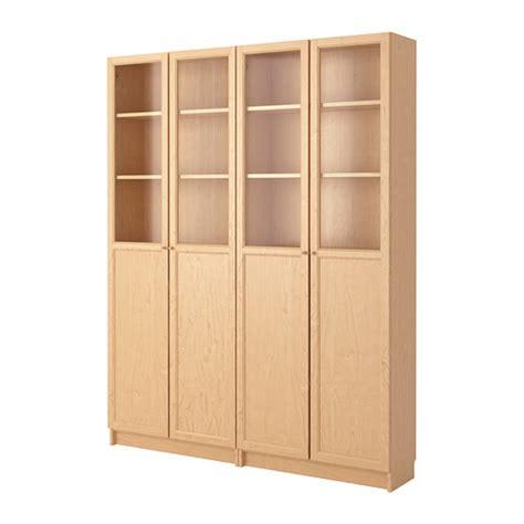 ikea com billy bookcase billy oxberg bookcase birch veneer ikea