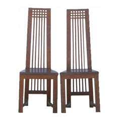six actona deco oak high back dining chairs chairs
