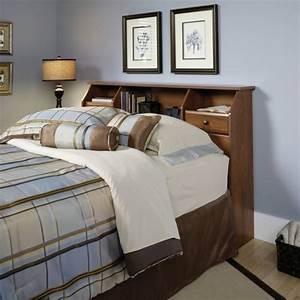 Tete De Lit Chevet : tete de lit avec rangement integre ~ Teatrodelosmanantiales.com Idées de Décoration