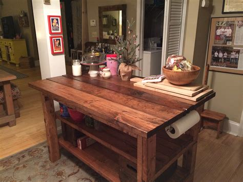 rustic kitchen islands built rustic kitchen island house food baby 2058