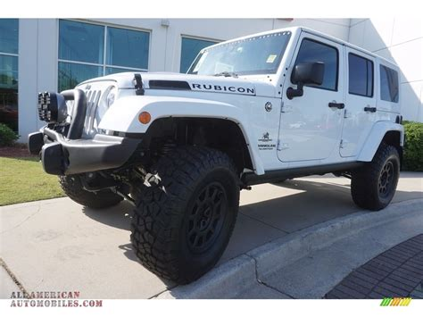 jeep rubicon 2017 white 2017 jeep wrangler unlimited rubicon 4x4 in bright white
