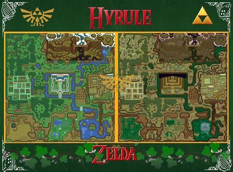 details  zelda map  link    wall poster