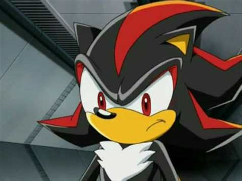 Angry Shadow the Hedgehog Sonic X