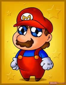 How to Draw Chibi Mario, Step by Step, Chibis, Draw Chibi ...