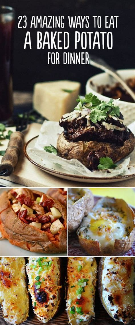 baked potato bar side dishes 23 amazing ways to eat a baked potato for dinner ideas bar and sweet potato recipes
