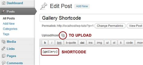 Creating Your Own Image Gallery Page Template In by The Gallery Shortcode