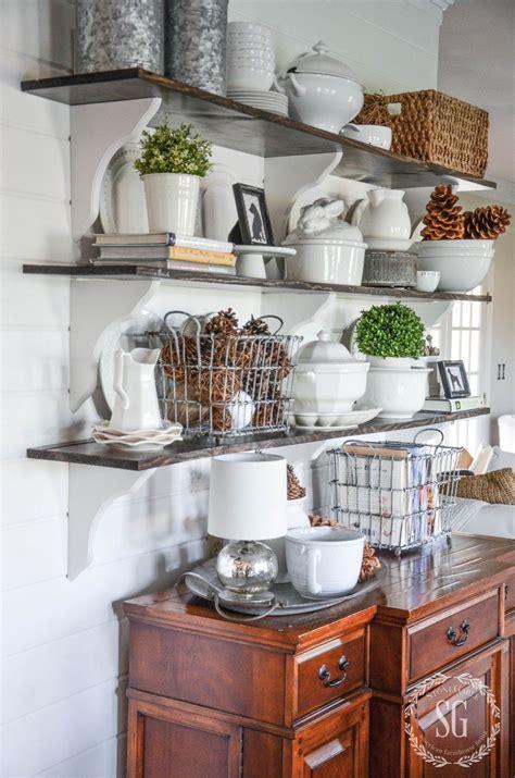 open shelves   breakfast room dining room shelves kitchen kitchen decor