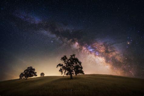 California Milky Way Photography Night Sky And