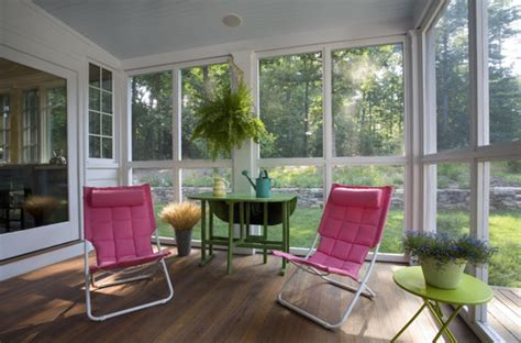 Winterizing A Screened Porch by Screened Porches In Winter