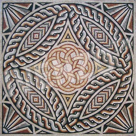 Mosaic Roman Pattern Ck015