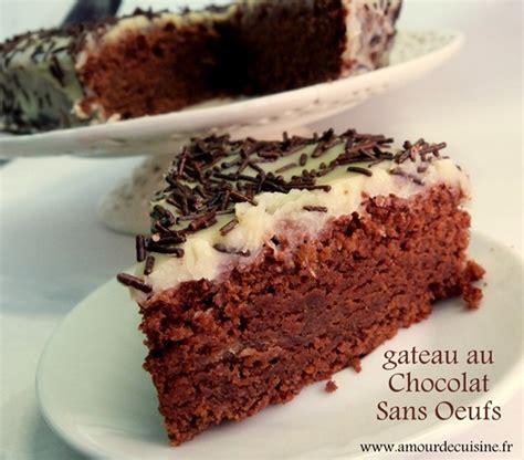 de amour de cuisine gateau au chocolat sans oeufs recette delicieuse amour