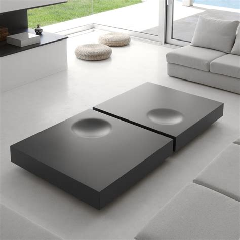 Our 11 favorite coffee tables with storage. Modern Grey Coffee Table with Storage Square Coffee Table with Drawer - Coffee Tables - Living ...
