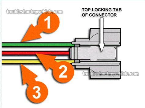 Honda Tp Wiring how to test the throttle position sensor honda 1 5l 1 6l