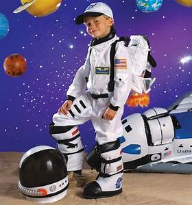 NASA Jr. Astronaut Suit White Toddler / Child Costume ...