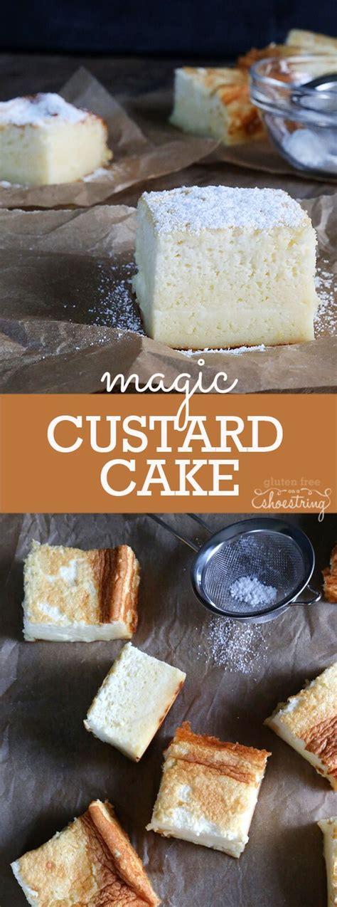 ideas  custard cake  pinterest magic