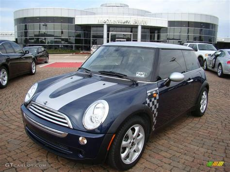 Mini Cooper Blue Edition Hd Picture by 2006 Space Blue Metallic Mini Cooper Checkmate Edition