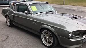 1968 Mustang Shelby Gt500e Eleanor  Signed By Nicolas Cage