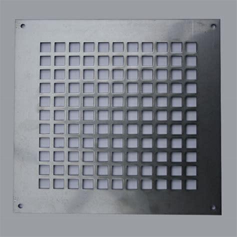 2mm Edelstahl Lüftungsgitter 6 Größen Lochblech V2a