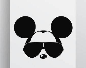 Large collections of hd transparent mickey mouse png images for free download. Mickey Mouse With Sunglasses Svg | David Simchi-Levi
