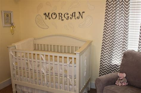chambre bébé jaune inspiration ambiance chambre bébé jaune