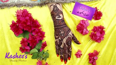 And that's the main reason our mehndi art is always so. Kashee's Signature Mehndi - YouTube