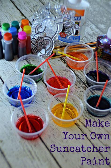 suncatcher paint diy gifts  kids