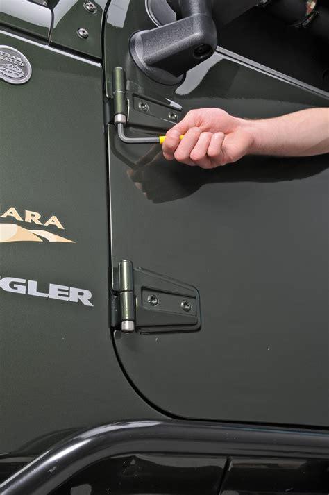 quadratec anti theft hinge pin nuts    jeep