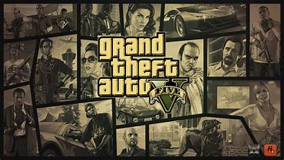 Theft Grand Wallpapers Gold Gta Getwallpapers