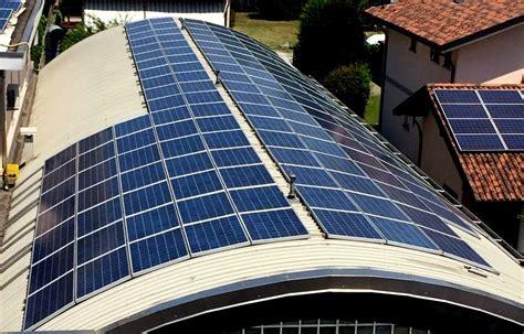 tetto a cupola impianti fotovoltaici l importanza della manutenzione