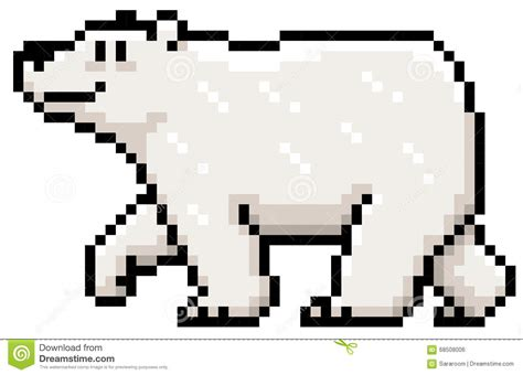 Polar Bear Stock Vector. Illustration Of Animal, Cute