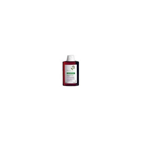 klorane shampooing fortifiant antichute quinquina