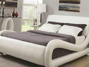 Coaster 300070 Kingsburg White Modern Bed In Myrtle Beach