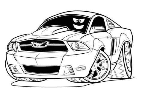 mustang coloring pages car printable coloring pages cars coloring pages coloring pages