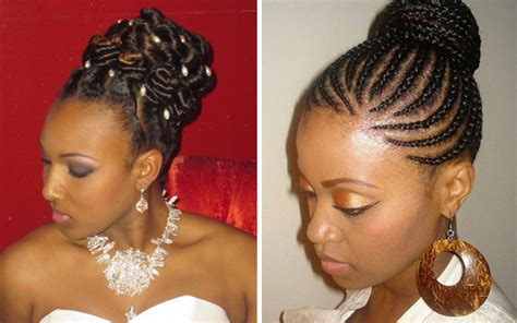 Latest Trends On African Wedding Hairstyles 2017