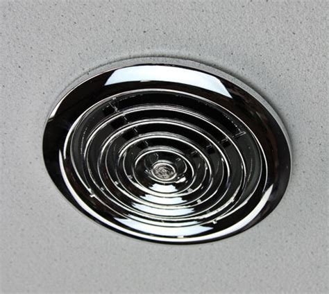 internal chrome ventilation grille   mm duct